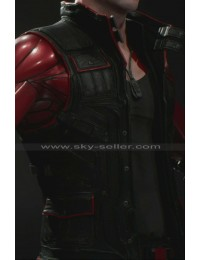 Paragon Shooter Twinblast Black Leather Vest