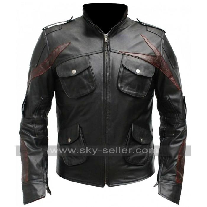 Prototype 2 James Heller Sgt Leather Jacket