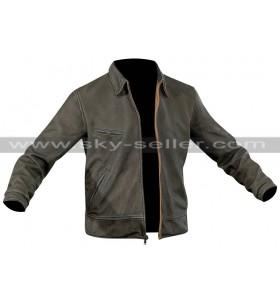 Jake Joyce Quantum Break Game Black Leather Jacket