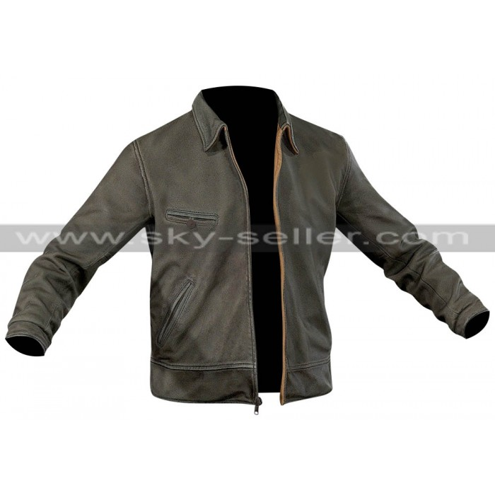 Jake Joyce Quantum Break Game Black Leather Jacket