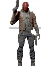 Injustice 2 Jason Todd (Red Hood) Costume Leather Jacket