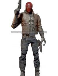 Injustice 2 Jason Todd (Red Hood) Costume Leather Jacket