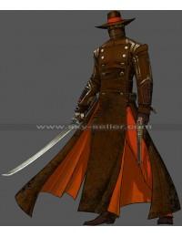 Red Steel 2 Swordsman Last Kusagari Cosplay Costume Jacket