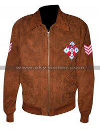 Ryo Hazuki Shenmue Brown Bomber Leather Jacket