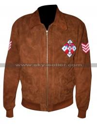 Ryo Hazuki Shenmue Brown Bomber Leather Jacket