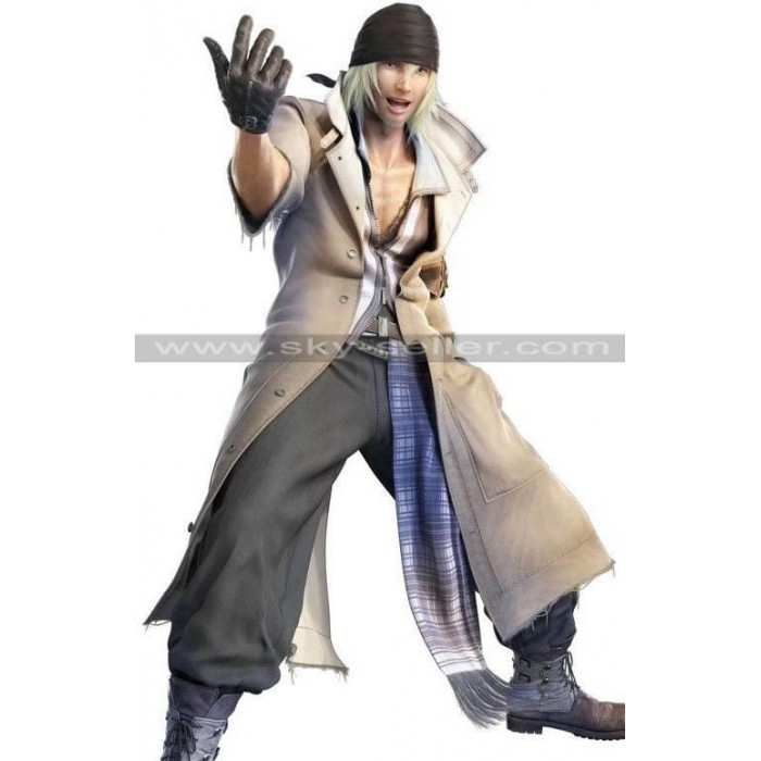 Snow Villiers Final Fantasy XIII L'Cie Cosplay Costume