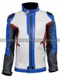 Soldier 76 Overwatch Game Motorcyle Leather Jacket