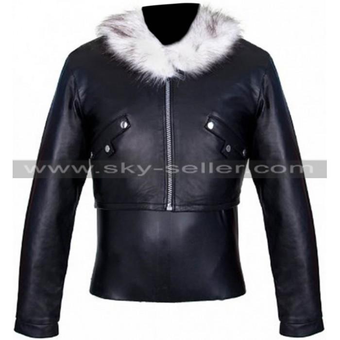 Squall Leonhart Final Fantasy VIII Brown Fur Jacket