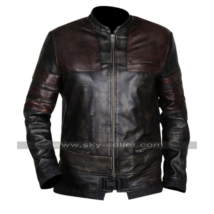 Star Wars The Force Unleashed Game Starkiller Costume Leather Jacket