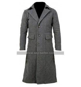 Bloodborne Game The Hunter Costume Grey Trench Coat