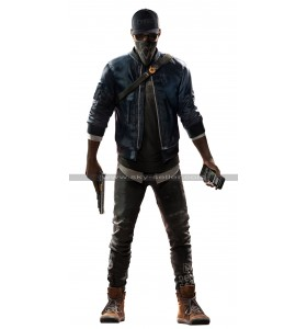Watch Dogs 2 Dedsec Marcus Holloway Cosplay Bomber Jacket