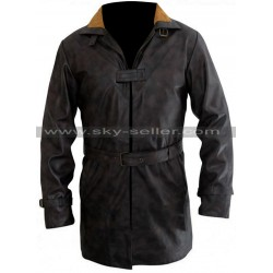 Watch Dogs Aiden Pearce Fur Collar Distressed Coat