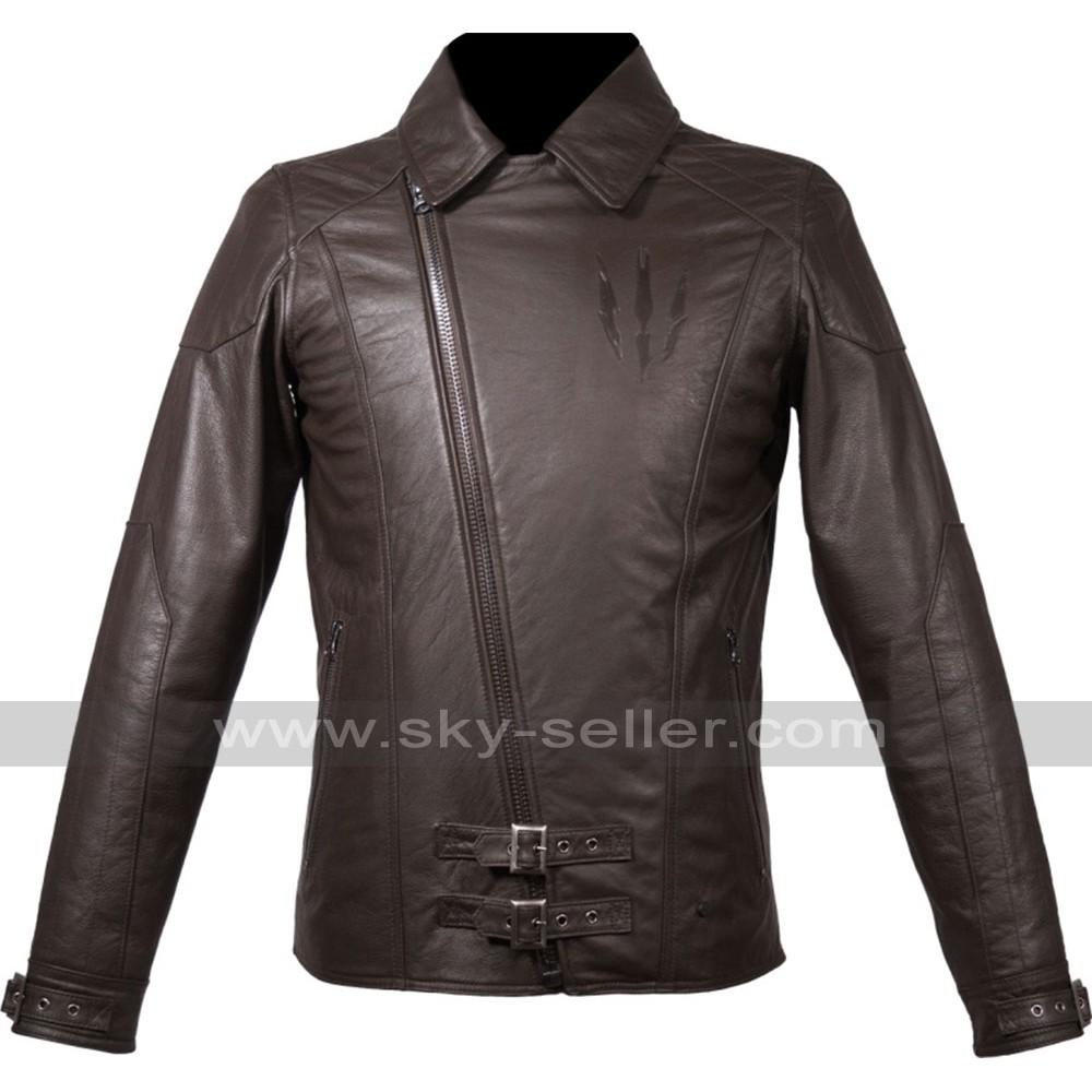 Geralt W3 Wild Hunt Witcher Claw Leather Jacket