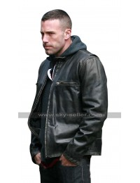 Ben Affleck The Town Doug MacRay Black Biker Leather Jacket