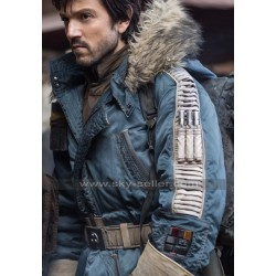 Diego Luna Rogue One Rebel Parka