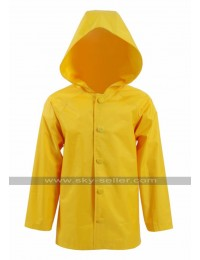 Georgie Denbrough IT Movie Jackson Robert Scott Yellow Hoodie Jacket