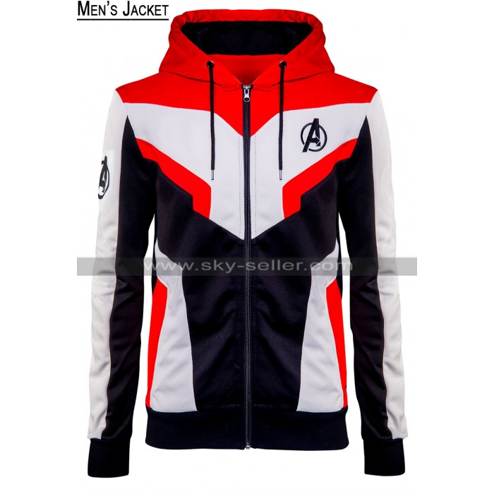 Avenges Endgame Quantum Realm Tech Suit Cotton Hoodie Jacket For Men / Women