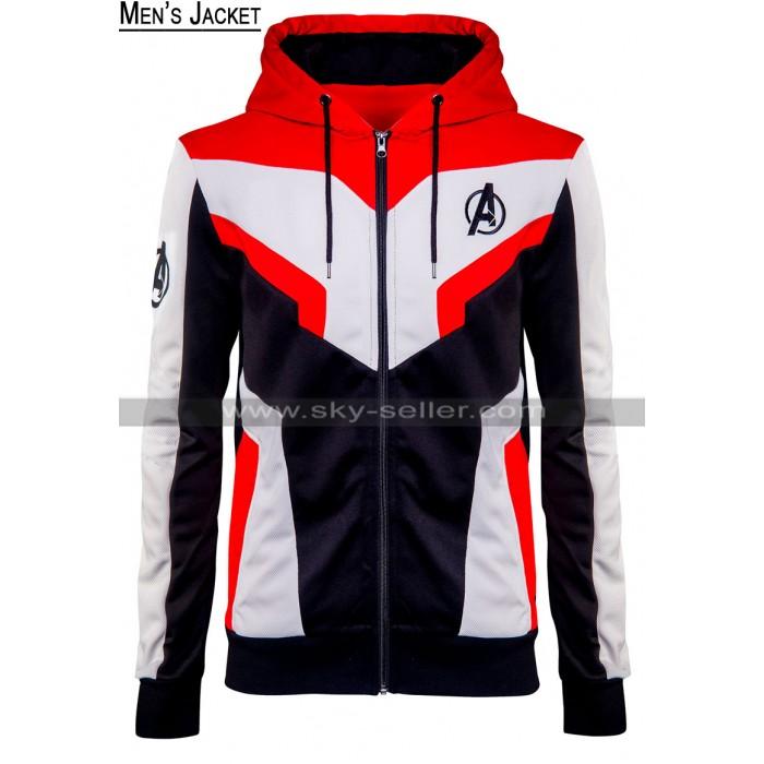 Avenges Endgame Quantum Realm Tech Suit Cotton Hoodie Jacket For Men / Women