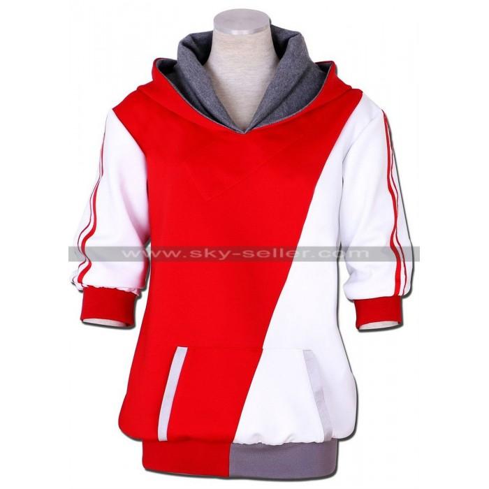 Pokemon Go Trainer Hoodie Costume Jacket