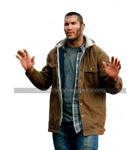 Randy Orton The Condemned 2 Will Tanner RKO Hoodie Brown Cotton Jacket