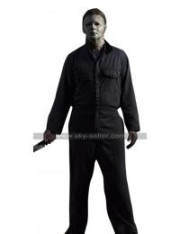 Halloween 2018 Michael Myers (Nick Castle) Cotton Black Costume Jumpsuit