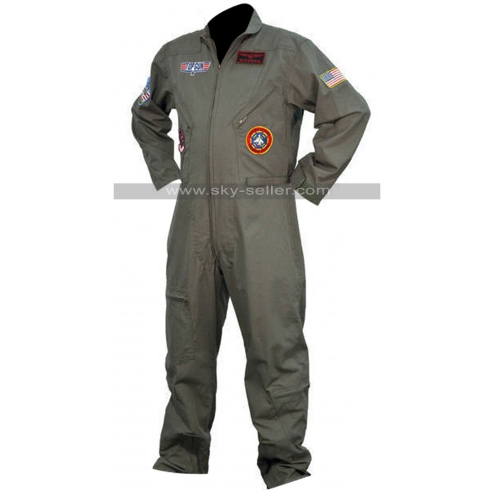Top Gun Pilot Unisex Flight Suit Costume