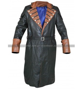 Assassin's Creed Unity Arno Dorian Costume Trench Coat
