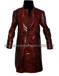 Billy Darley Death Sentence Garrett Hedlund Trench Coat