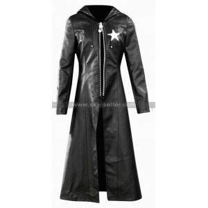 Black Rock Shooter Costume Leather Coat