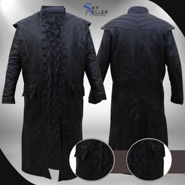 Black Sails S3 Pirate Captain Flint Costume Leather Coat