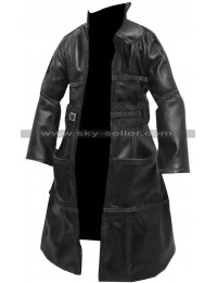 Blade Runner 1982 Roy Batty Black Costume Leather Coat