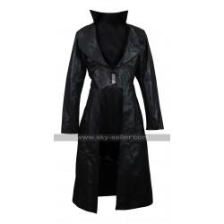 Blood Rayne 3 Natassia Malthe Leather Trench Coat