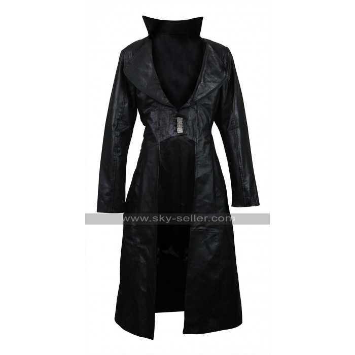 Blood Rayne 3 Natassia Malthe Leather Trench Coat