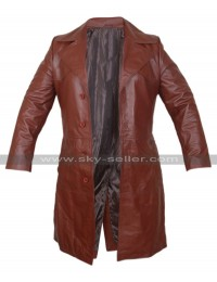 Suicide Squad Will Smith Deadshot Trench Leather Coat