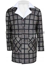 Django Unchained Jamie Foxx Fur Leather Coat