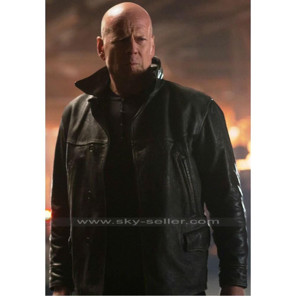 Bruce willis leather jacket