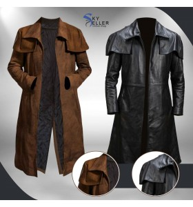 Fallout New Vegas Veteran Ranger Costume Leather Coat