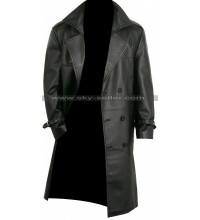 Frank Castle The Punisher Biker Trench Leather Coat