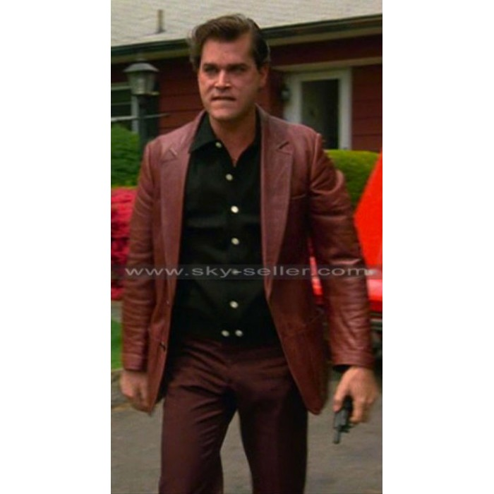 Goodfellas Ray Liotta (Henry Hill) Red Leather Jacket