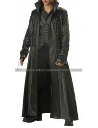 Gothic Vampire Baron Von Bloodshed Trench Black Coat