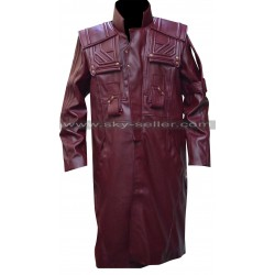 Guardians of the Galaxy Vol 2 Peter Quill Leather Coat
