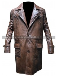 Cam Gigandet Priest Hicks Brown Trench Coat