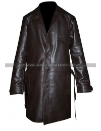 Kevin Costner Untouchables Elliott Ness Brown Coat