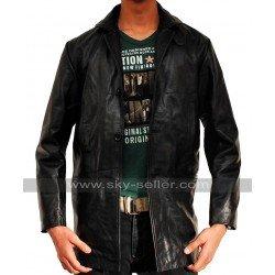 Max Payne Mark Wahlberg Black Leather Jacket/Coat