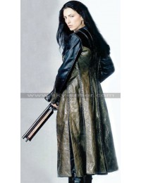 Officer Aeryn Sun Farscape Claudia Leather Trench Coat