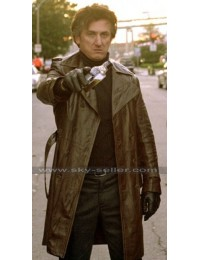 Sean Penn Mystic River Jimmy Markum Trench Jacket