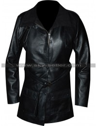 Sophia Bush Chicago PD Erin Lindsay Black Coat