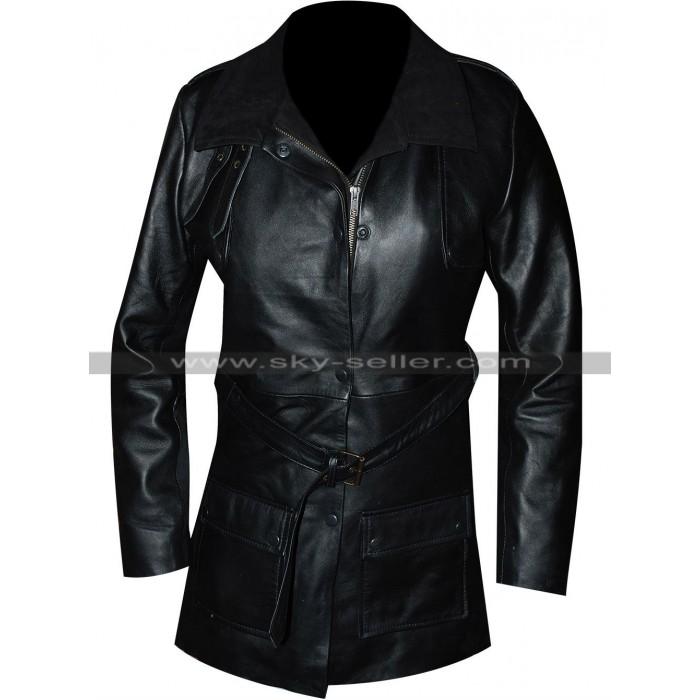 Sophia Bush Chicago PD Erin Lindsay Black Coat