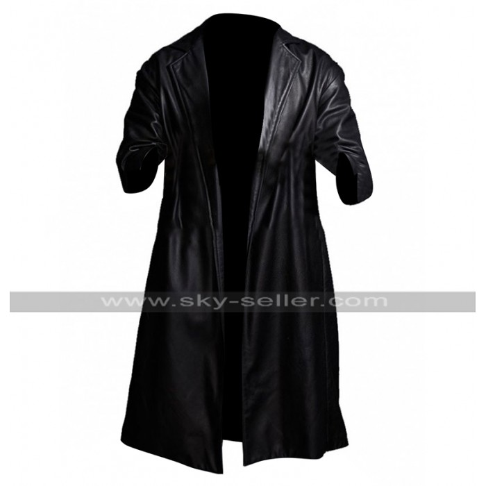 Youngblood Priest SuperFly Trevor Jackson Black Leather Coat