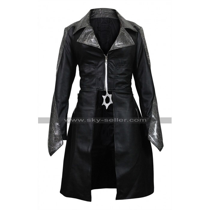 The Flash Season 3 Caitlin Snow (Killer Frost) Black Leather Coat